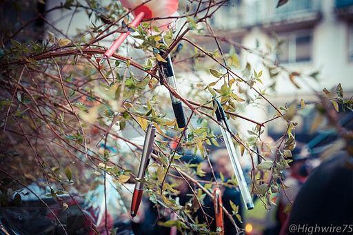 Les crayons de la révolution poussent dans les arbres