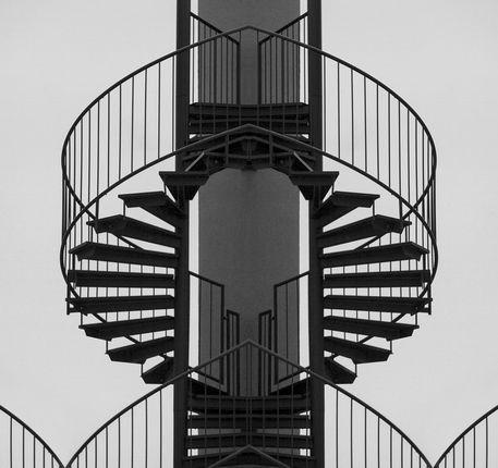 Stairways to heaven von Wolfgang Bertl bei artflakes.com als Poster oder Kunstdruck $17.33