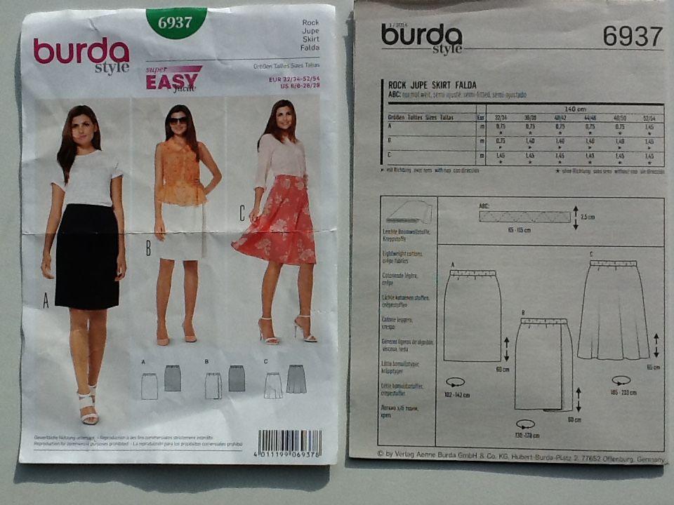BURDA 6937 EASY