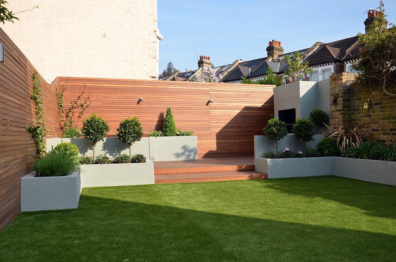 low maintenance modern garden design london garden design