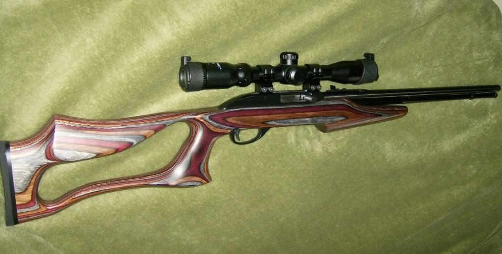 Boyd S Ss Evolution Stock On A Marlin 60 Shown And For A Model 795