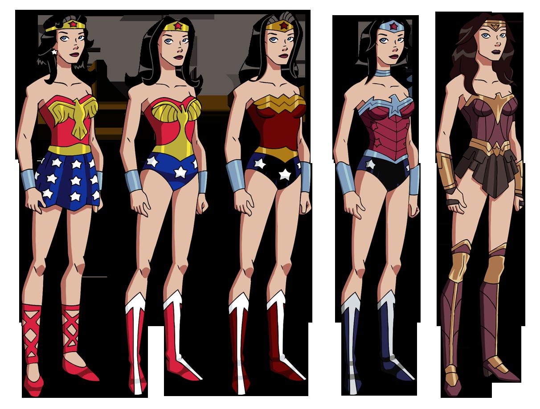 Wonder Womans Wardrobe By Glee chandeviantartcom On