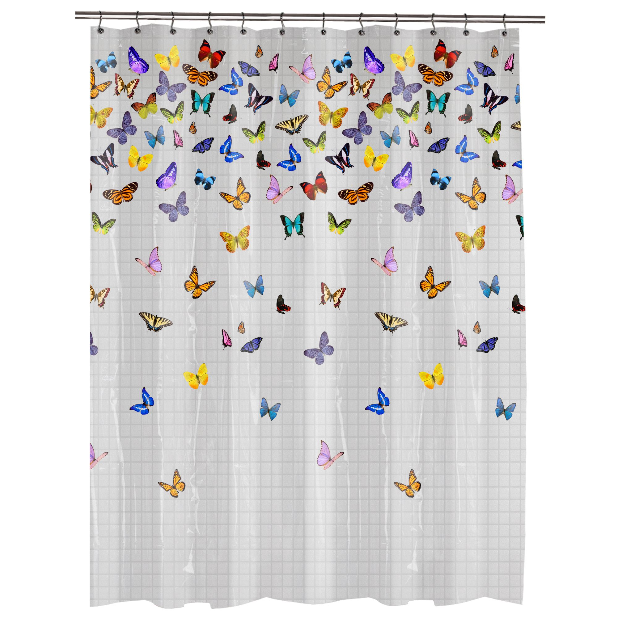 Butterfly Shower Curtain Walmart | Share | Ideas for the House ...