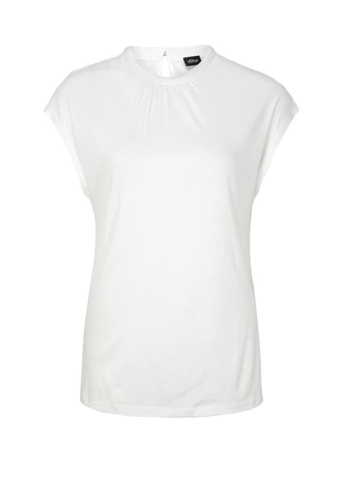 S Oliver Black Label T Shirt Damen Weiss Grosse Xxxl T Shirt Damen Shirts T Shirt