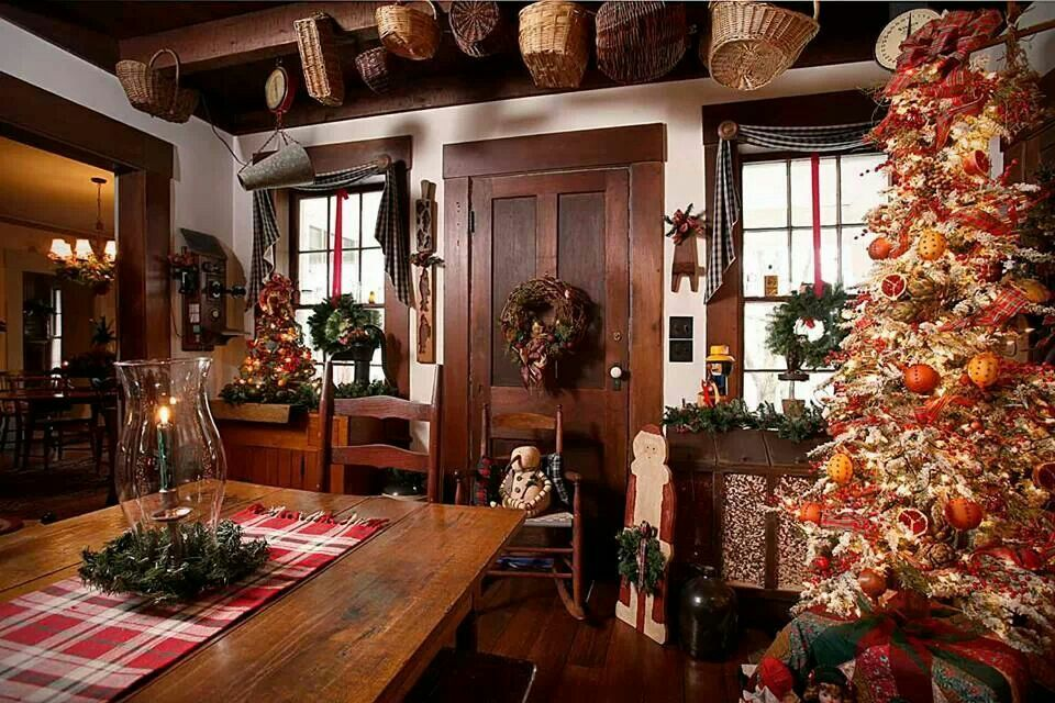Old Fashioned Christmas A Primitive Christmas Pinterest