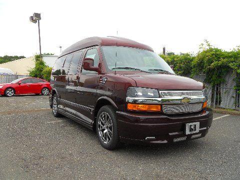 2013 2wd Chevrolet Express Explorer Luxury Conversion Van Van Conversion Conversion Vans For Sale Vans
