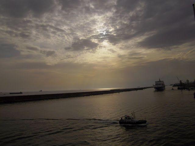 Dejando Genova, septiembre 2011