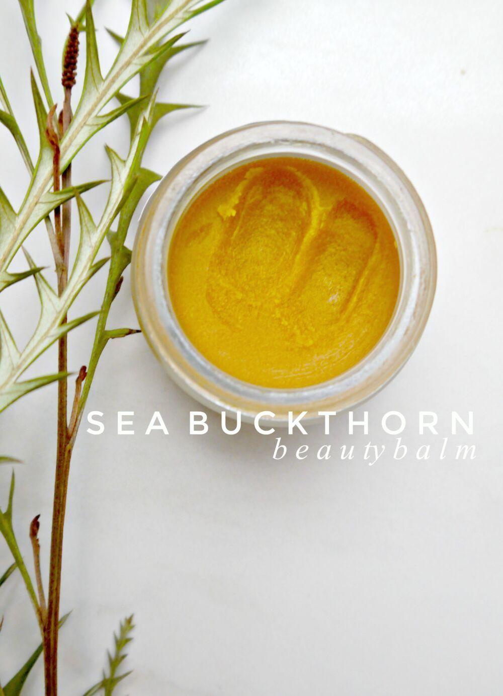 DIY Vitamin C Boosting Seabuckthorn Balm
