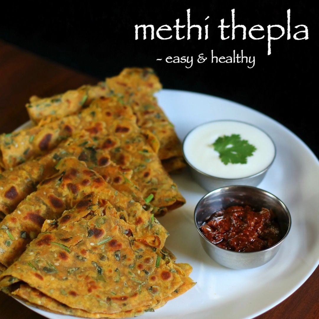 Hebbar S Kitchen On Instagram Methi Thepla Recipe Methi Roti