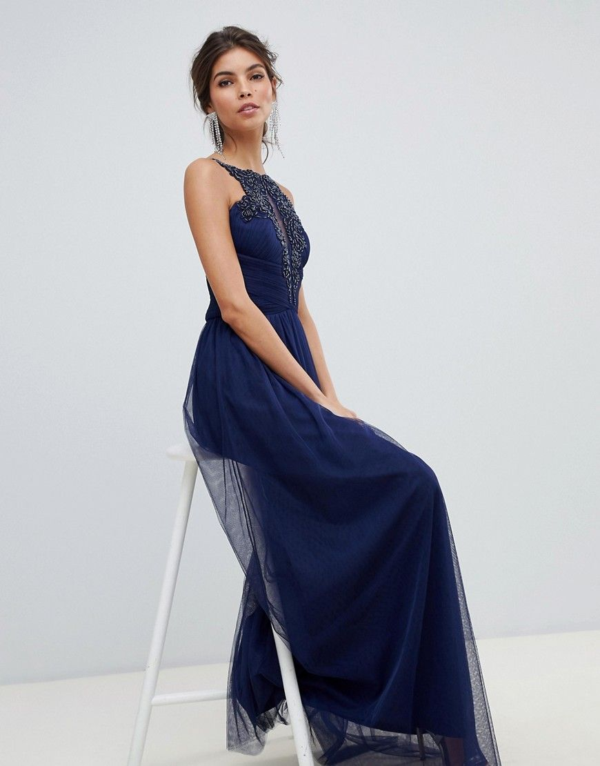 Waterlily Lace Maxi in 2021 | Floral lace maxi dress
