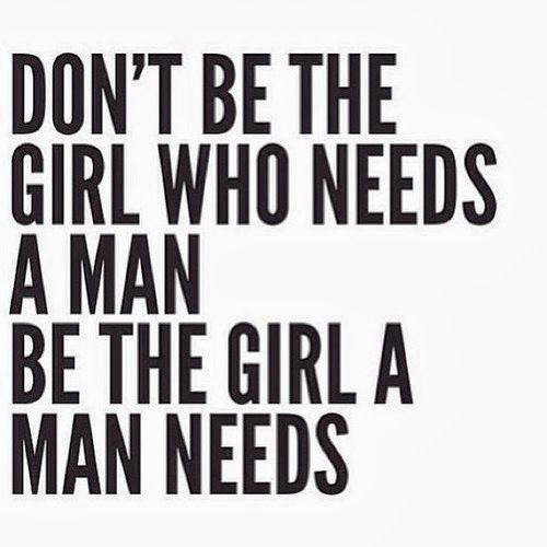 the girl a man needs