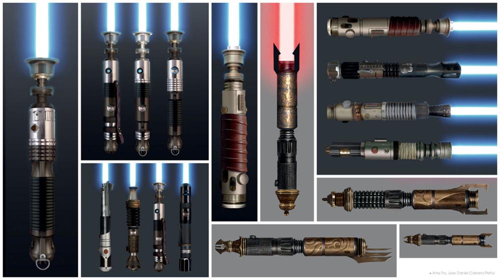 Lightsaber Hilts Art Star Wars Jedi Fallen Order Art Gallery Lightsaber Hilt Star Wars Light Saber Lightsaber Design