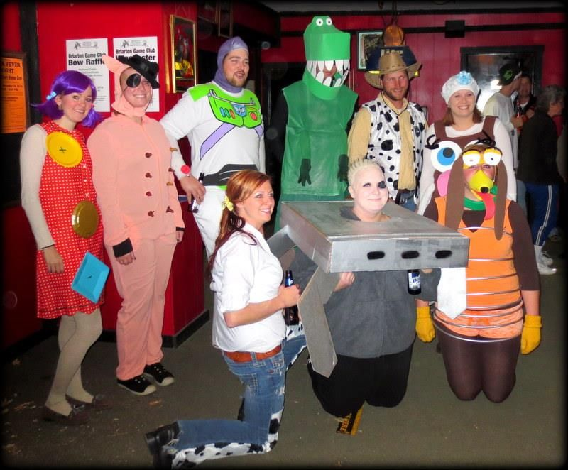 Toys For Groups : Our groups toy story costumes it s the most wonderful