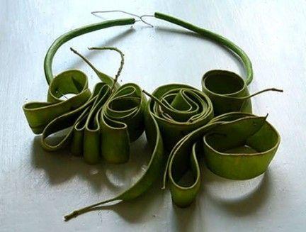 collane foglie Ceca Georgieva