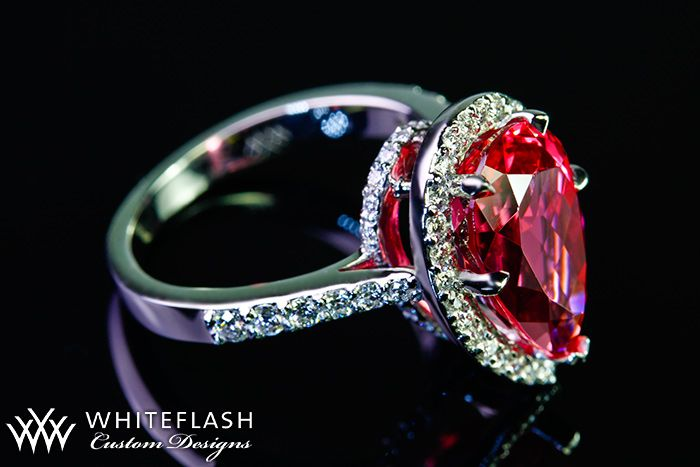 beautiful pear engagement ring: ALSO the meaning of a