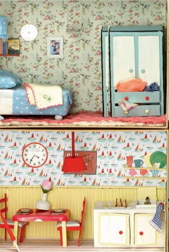 Found On Cath Kidston S Fb Page In Her Dream Room In A: Doll Houses, Dolls, And Soft