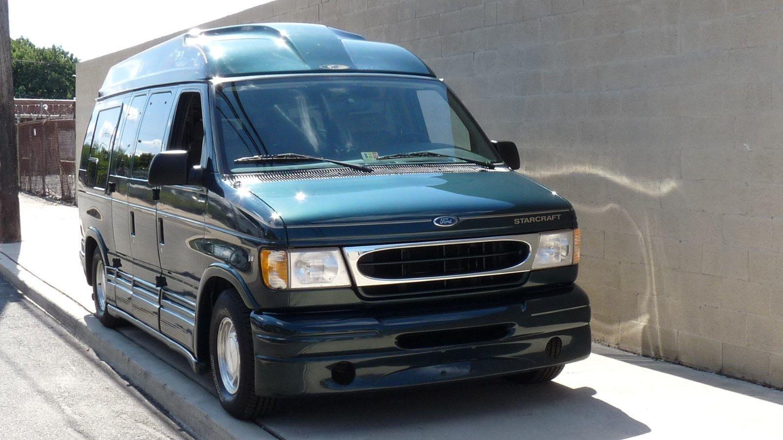 1999 Ford E Series Van E150 Conversion Van 2 Door Ebay Starcraft