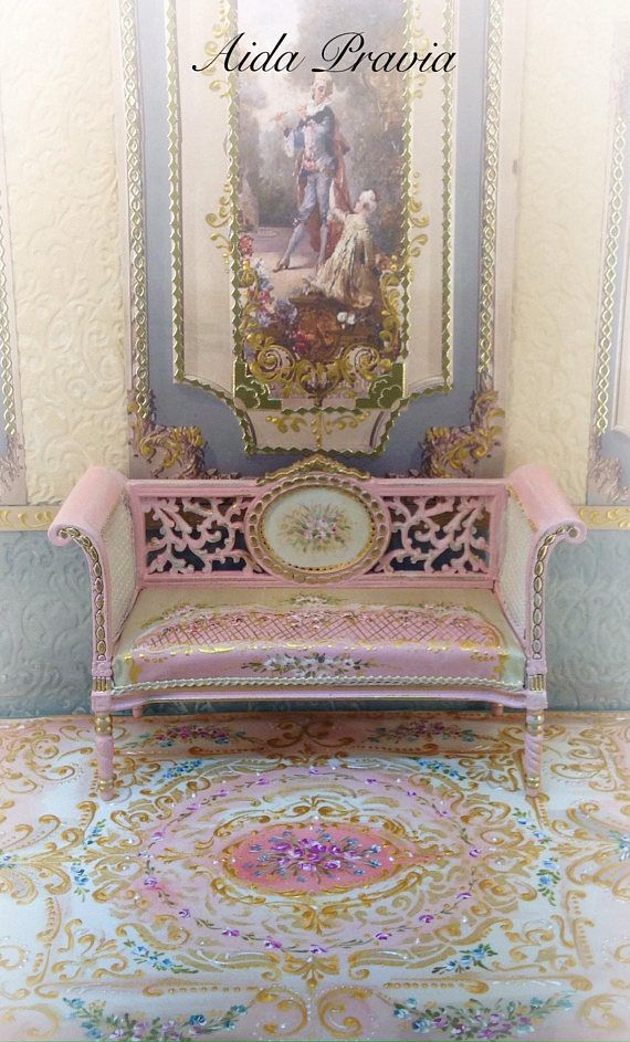 Pink Carpet 112 Dollhouse Furniture Pink Carpet