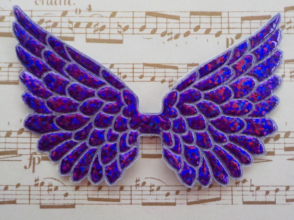 "100 Angel /& Fairy Wings Metallic Gold Wing Christmas Embellishments 7cm//2.5/"""