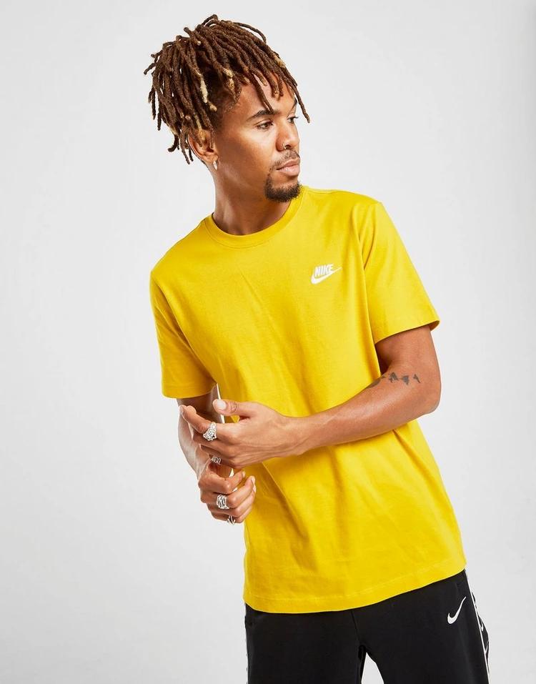 Buy White Nike Club Short Sleeve TShirt Jd sports fashion