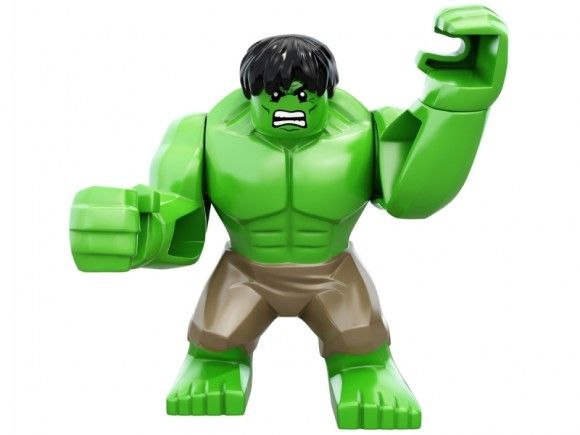 GENUINE LEGO MARVEL SUPERHEROES GREEN SHE HULK MINIFIGURE 76078 HULK AVENGERS