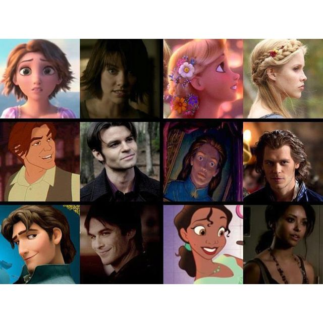 TVD characters and their Disney look alikes | {disney ...