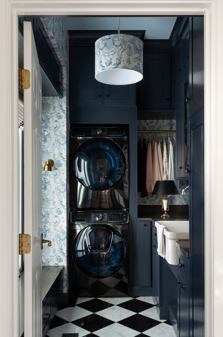 The Laundry Room Reveal In 2020 With Images Blue Laundry