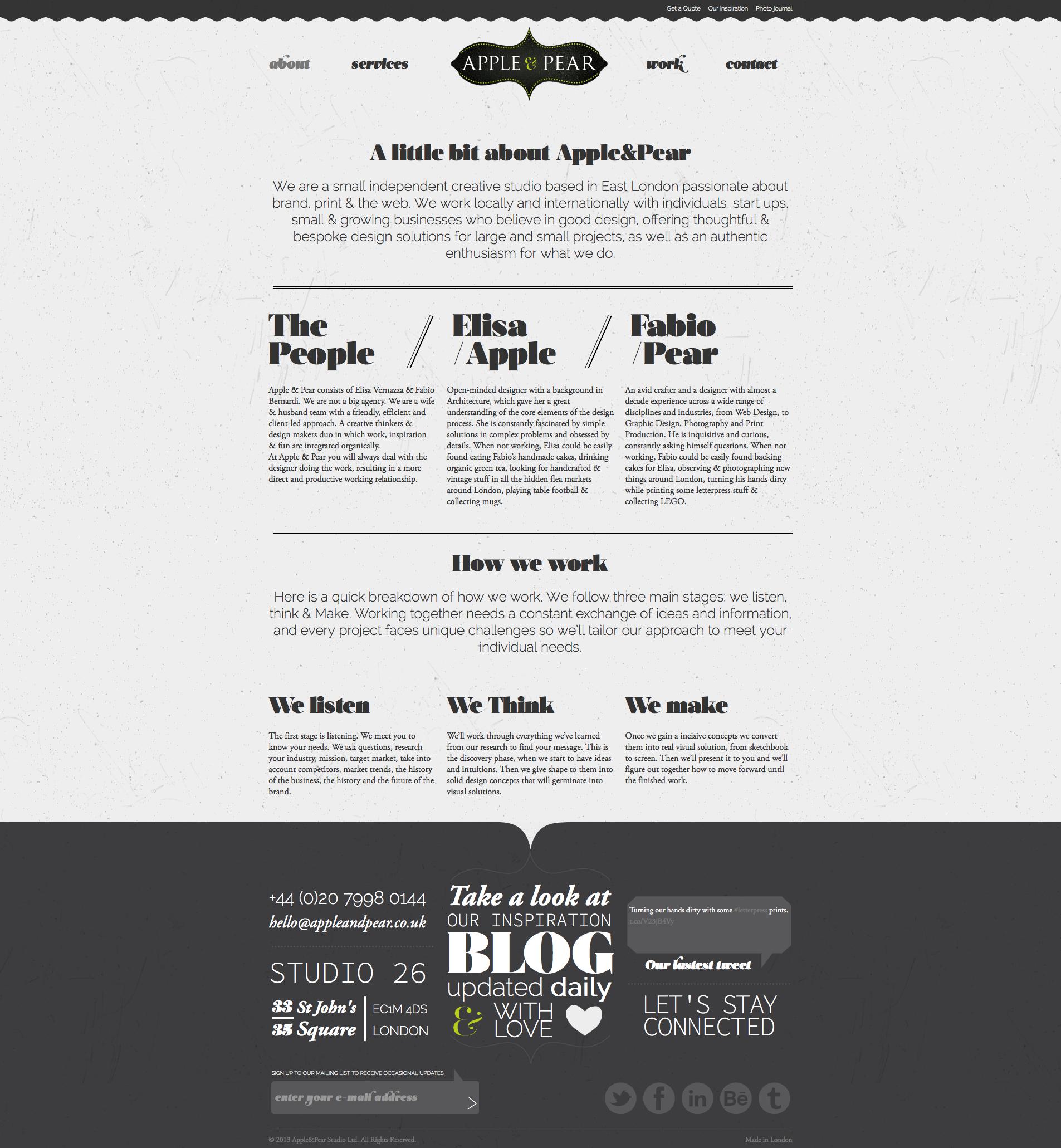 Www Appleandpear Co Uk Webdesign Portfolio Responsive Design Web Design Small Print Design