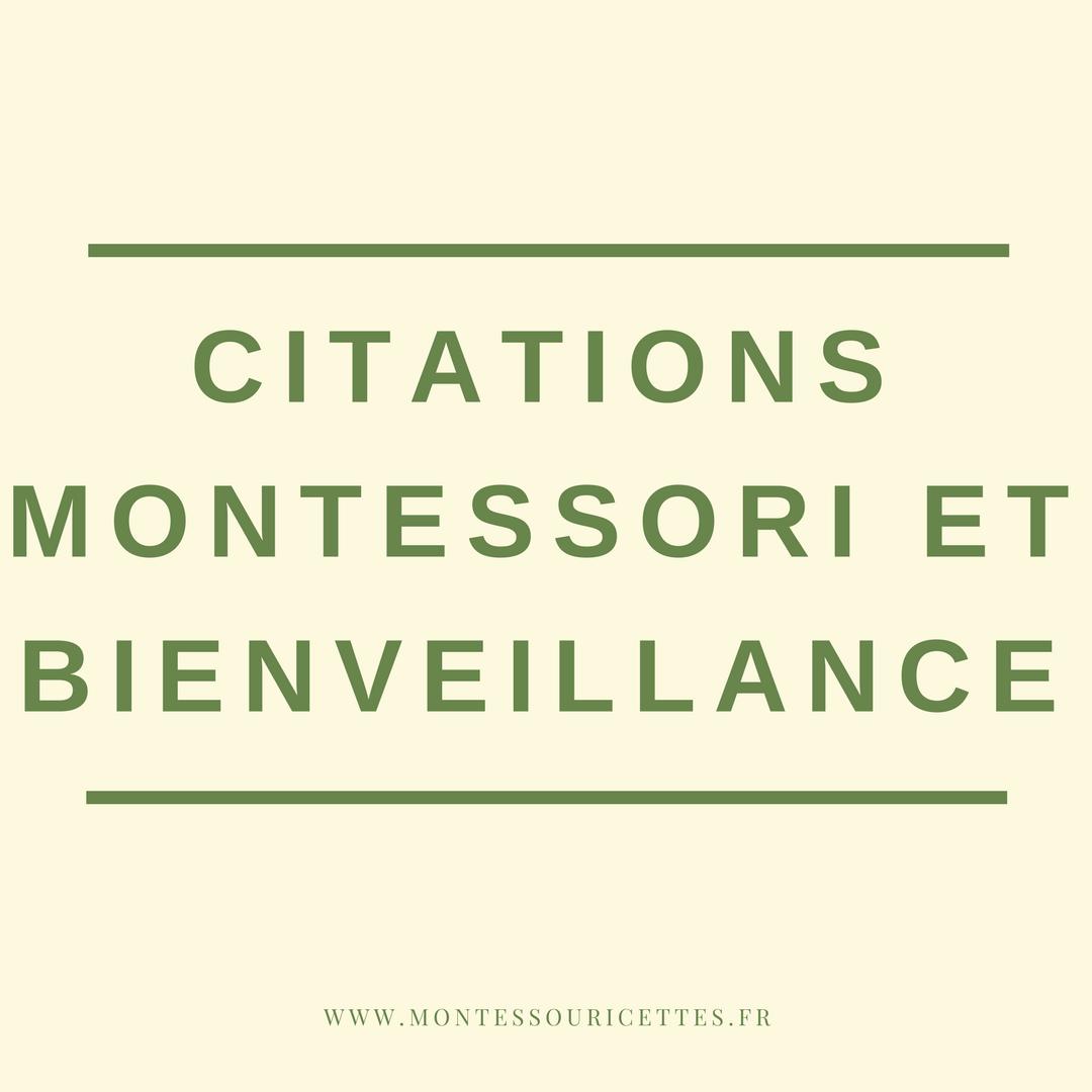 Des Citations Sur La Pédagogie Montessori Et L éducation