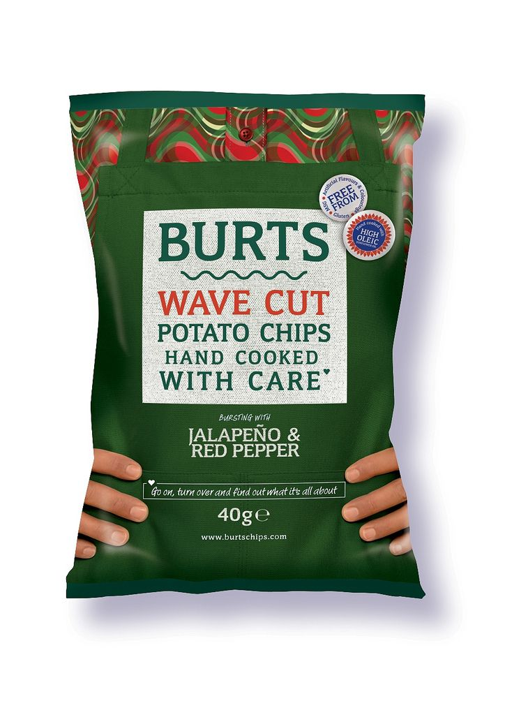 https://flic.kr/p/ecyrHW | Burts Chips | Burts Chips goes hot and spicy with new crisp flavours.
