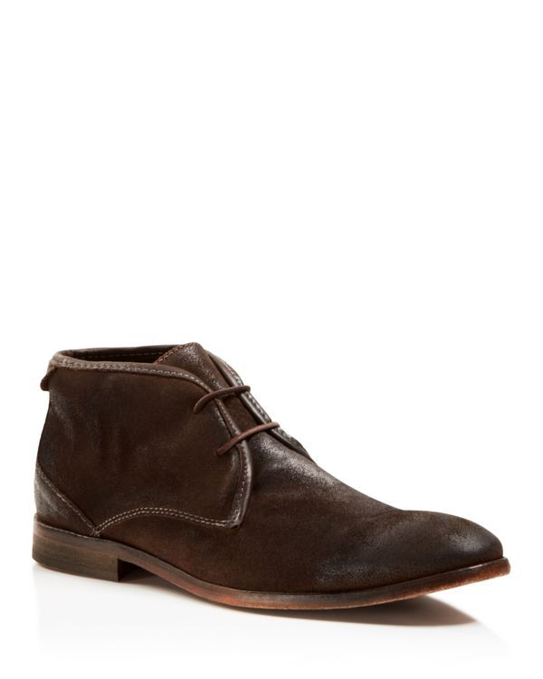 H By Hudson Cruise Suede Chukka Boots