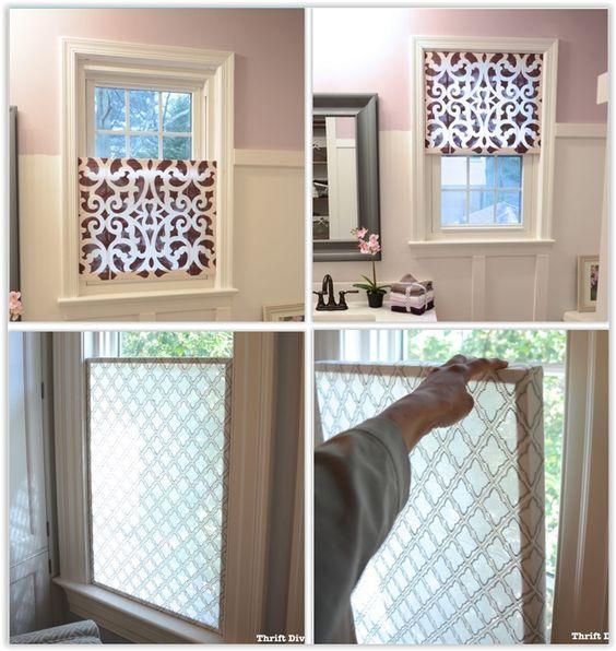 How To Make A Pretty Diy Window Privacy Screen Window Privacy Screen Window Privacy Diy Window