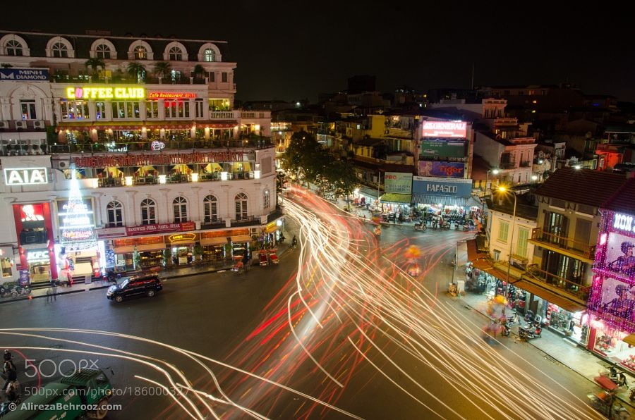 Hanoi old quarter the heart of the city! by behrooz_a. @go4fotos