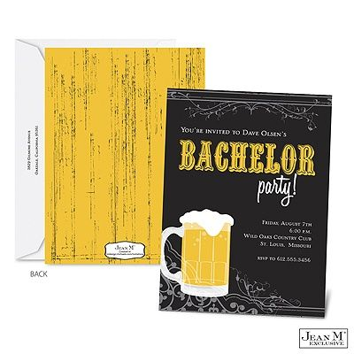 Help out your groomtobe and customize these bachelor party – Wording for Bachelor Party Invitations