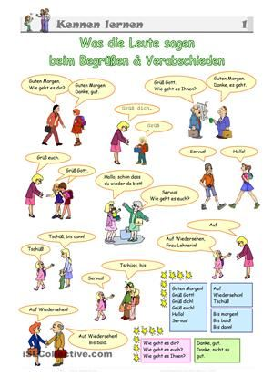 Sich kennenlernen italienisch