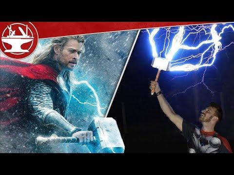 4 Catching Lightning With Thor S Hammer Youtube Thors Hammer Thor Lightning