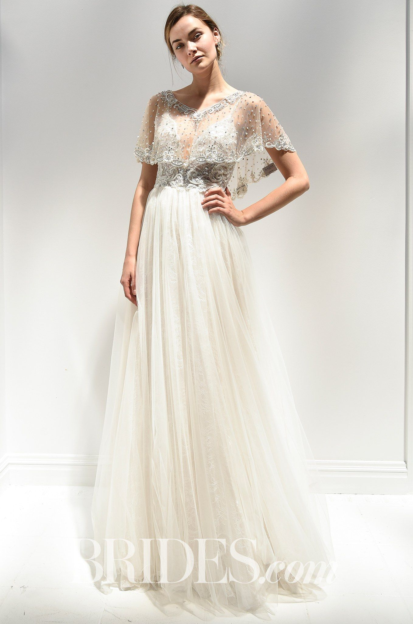 Bridal Spring Alon Livnes Vintage Hollywood Took His Usual Lavishness To Understated