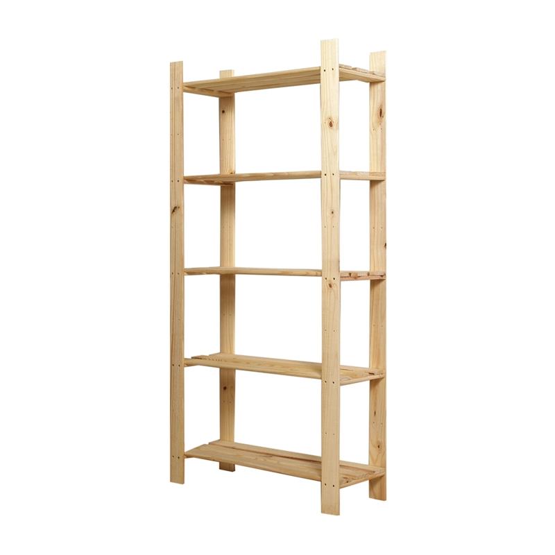Core 5 Tier Pine Shelf Unit Bunnings Warehouse Pine Shelves Shelf Unit Shelves