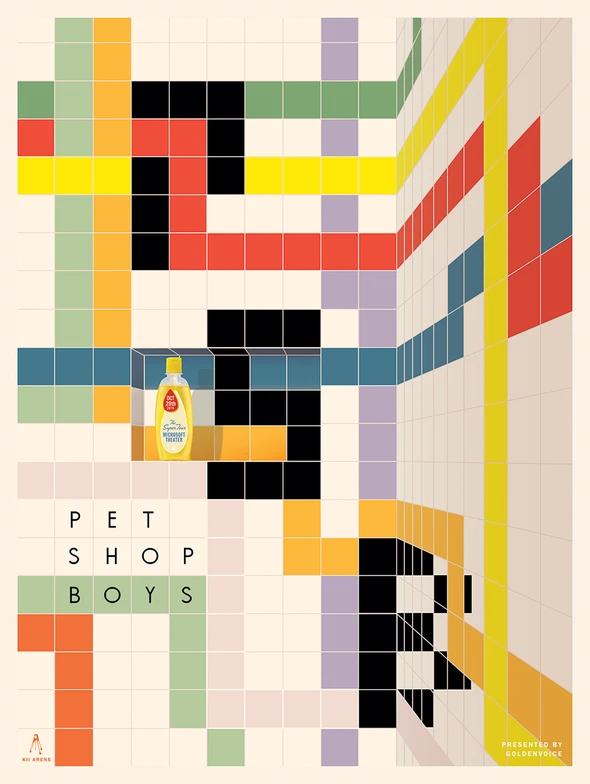 Pet Shop Boys Microsoft Theatre Pet Shop Boys Pet Shop Art Music