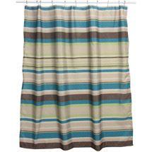 Walmart Bacova Guild Nassau Peacock Shower Curtain Brown 12