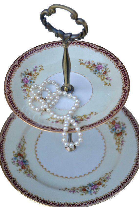 Jewelry Tray Tiered Server 2 Tiered Jewelry Stand By Simplychina Jewelry Tray Tiered Server Cake Stand