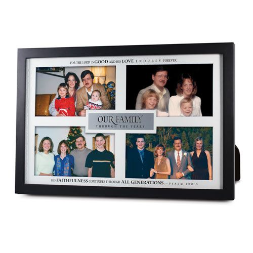Our Family Through The Years Moments In Time Collage Frame Frame Multi Photos Frame Collage Frames