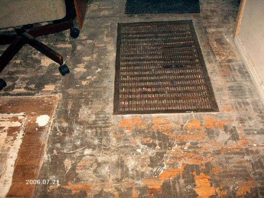 Renewing Our Hardwood Floor Carpet Glue Hardwood How To Clean Carpet