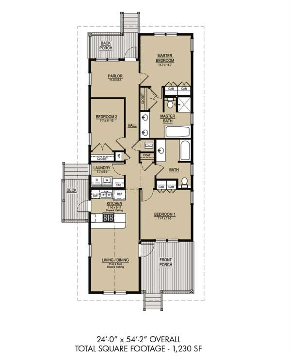 Katrina cottages for sale new panel homes 20 by 30 model for Katrina cottage floor plans