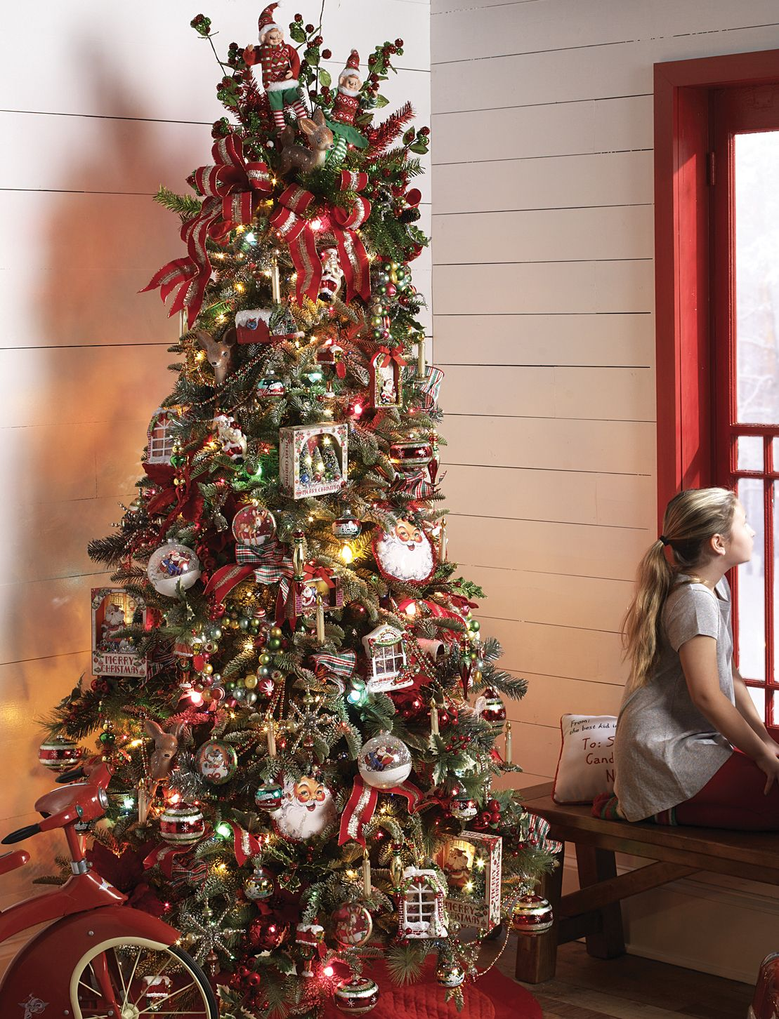 Santa Supply Company Christmas Tree By Raz Imports