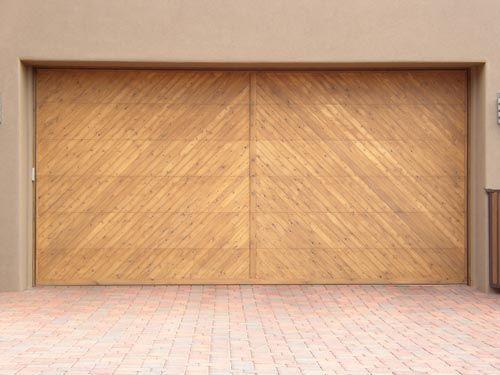 Image Result For Wood Panel Modern Garage Doors Materials