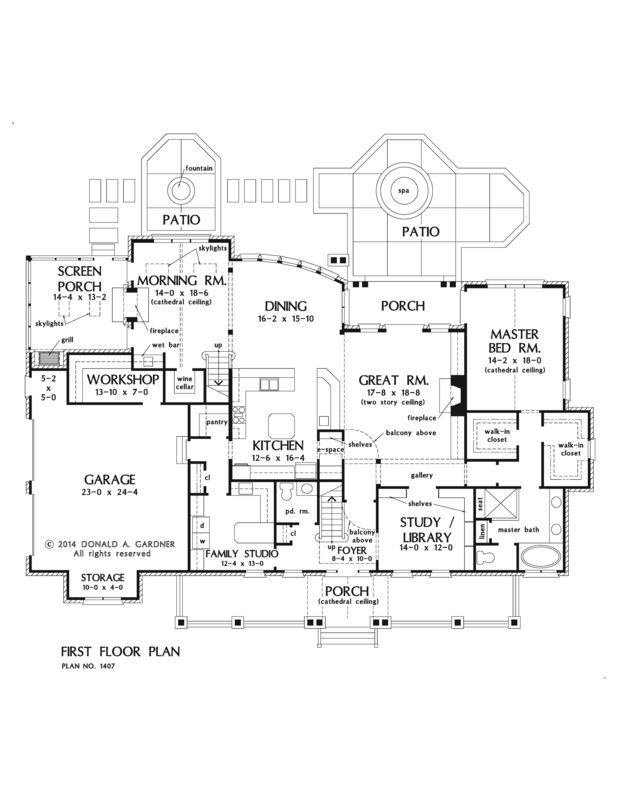 Floorplan The Lawrenceville House Plan 1407 Basement House Plans House Plans Floor Plans