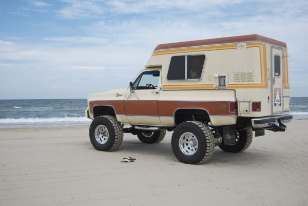 76 Chevy Chalet K5 Trucks Slide In Camper Chevy Trucks