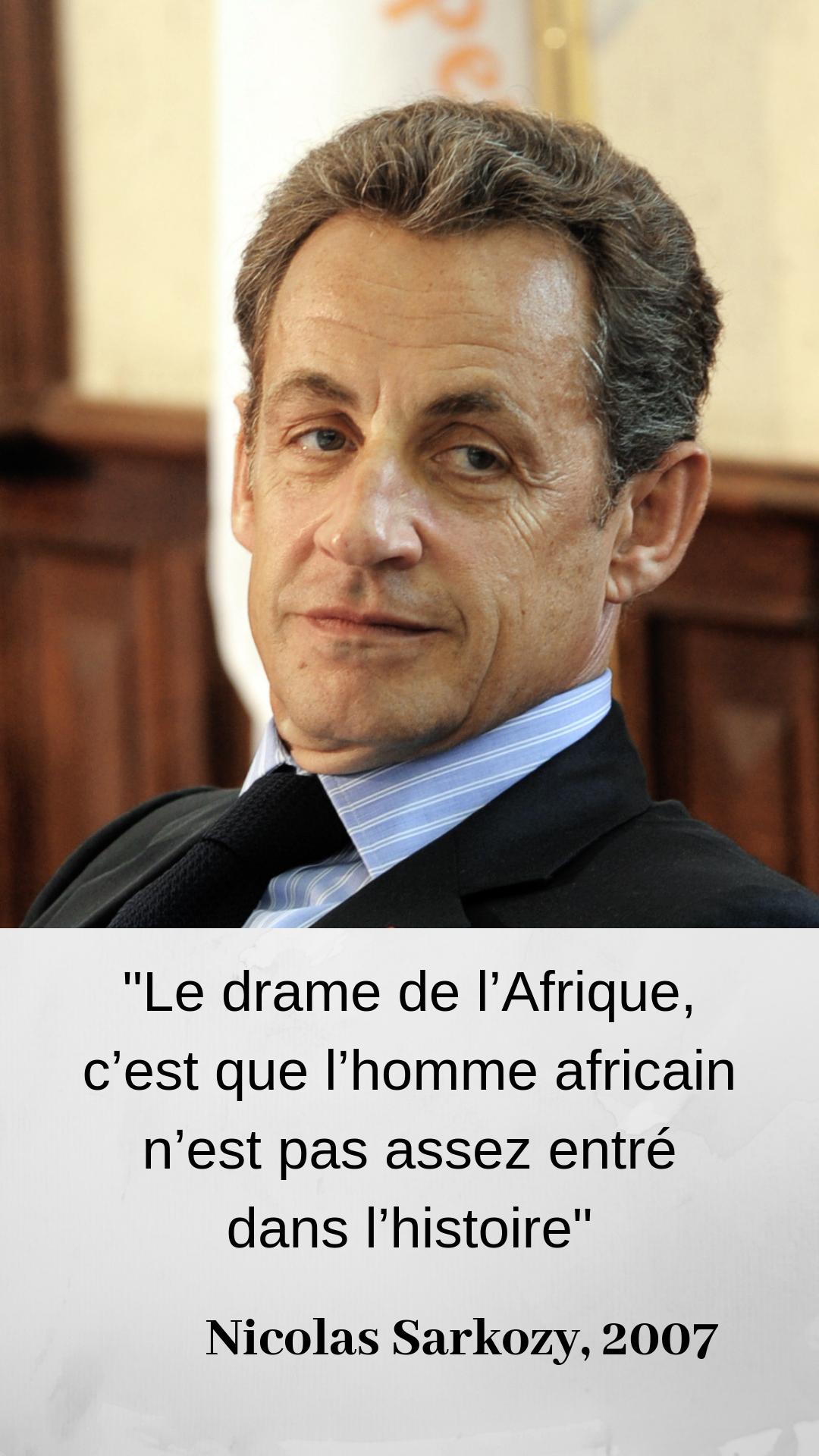 A Quelle Occasion Dominique De Villepin Prononce T Il Ces Mots Facile Histoire Africaine Sarkozy 5eme Republique