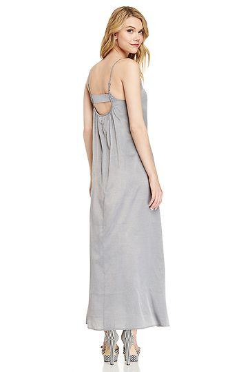 Pink Stitch Resort Maxi Dress | DAILYLOOK